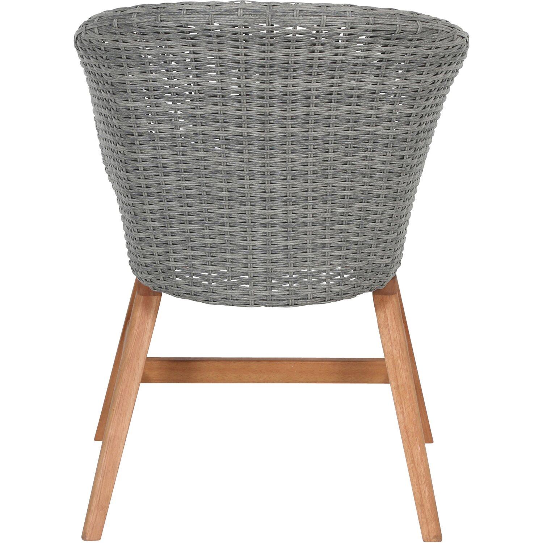 greemotion design gartenstuhl madeira polyrattan grau kaufen bei obi. Black Bedroom Furniture Sets. Home Design Ideas