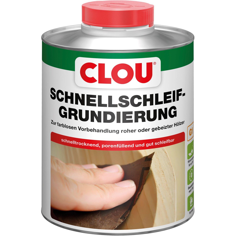 CLOU Clou Schnellschleif-Grundierung Transparent 750 ml