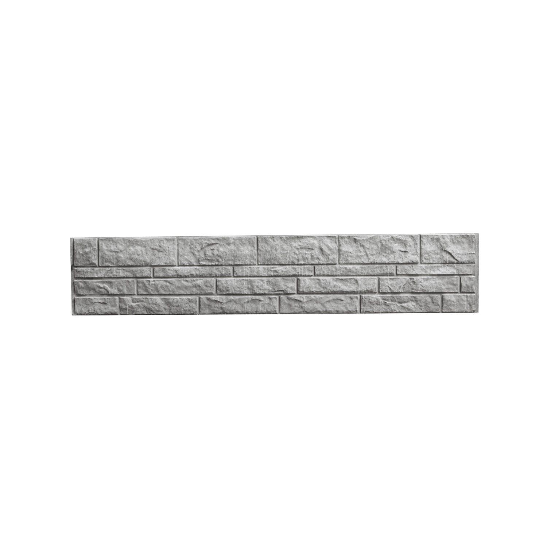 Betonzaun Platte Fels 200 Cm X 38 5 Cm X 3 Cm Kaufen Bei Obi