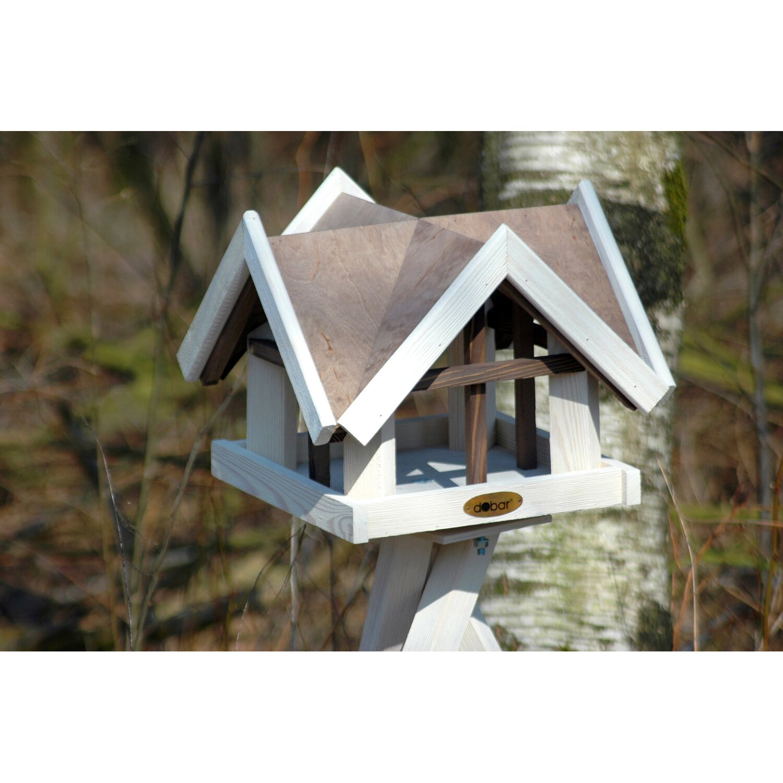 dobar vogelhaus mit antikfinish 37 x 37 x 43 cm braun wei kaufen bei obi. Black Bedroom Furniture Sets. Home Design Ideas