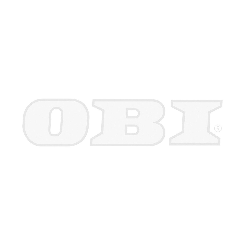 Respekta Küchenzeile KB270ESW 270 cm Weiß-Eiche Sägerau Nachbildung ...