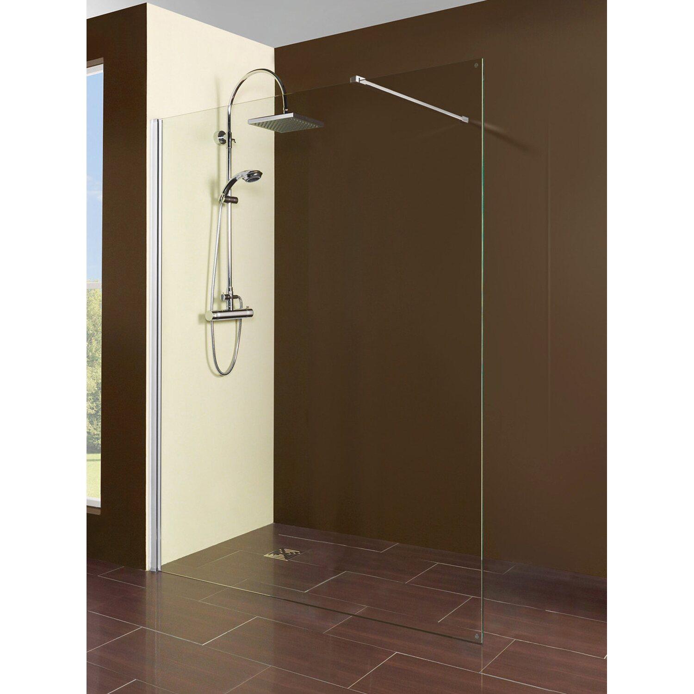 breuer duschwand walk in panorama chrom 90 cm kaufen bei obi. Black Bedroom Furniture Sets. Home Design Ideas