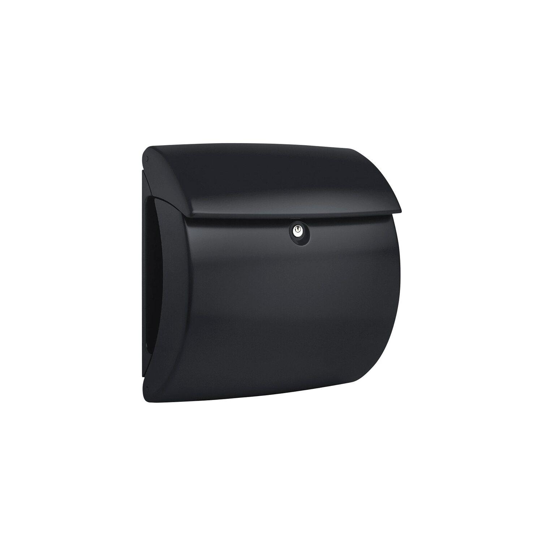 Burg w chter briefkasten kiel 886 schwarz kaufen bei obi - Briefkasten kaufen obi ...