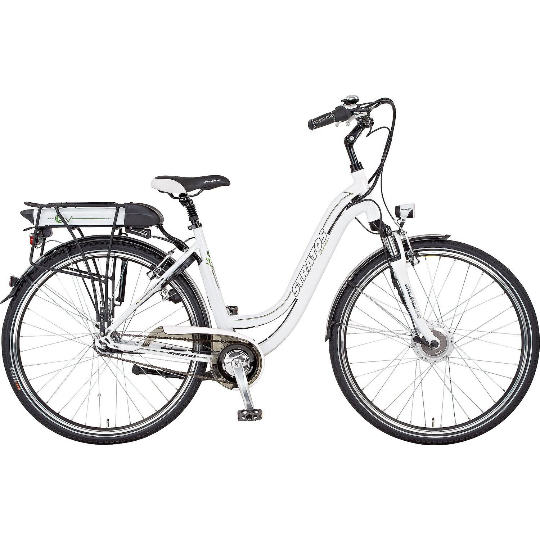 stratos e bike cityrad edelweiss 4 1 28 damen 7 gang. Black Bedroom Furniture Sets. Home Design Ideas