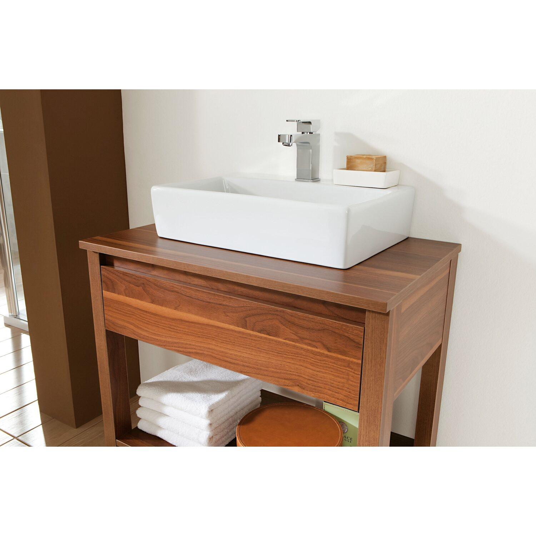 Waschtisch Obi.Obi Waschbeckenunterschrank Avio Nussbaum Nachbildung Kaufen