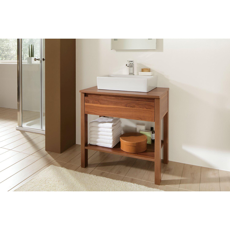 obi waschbeckenunterschrank avio nussbaum nachbildung kaufen bei obi. Black Bedroom Furniture Sets. Home Design Ideas