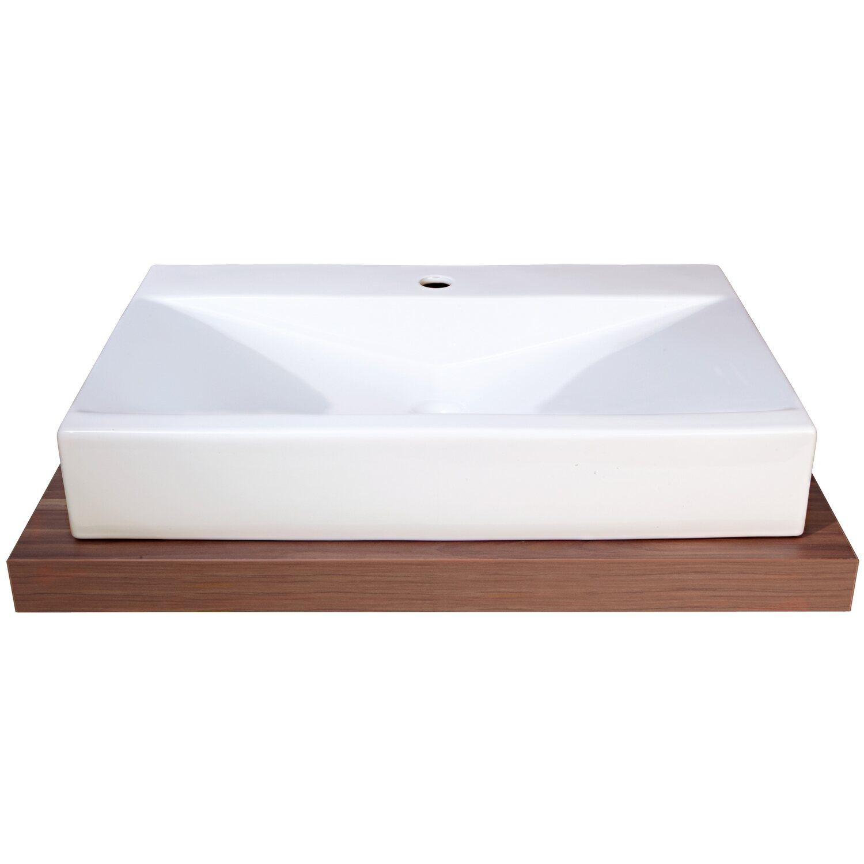 obi aufsatzwaschbecken pergusa 70 5 cm eckig wei kaufen bei obi. Black Bedroom Furniture Sets. Home Design Ideas