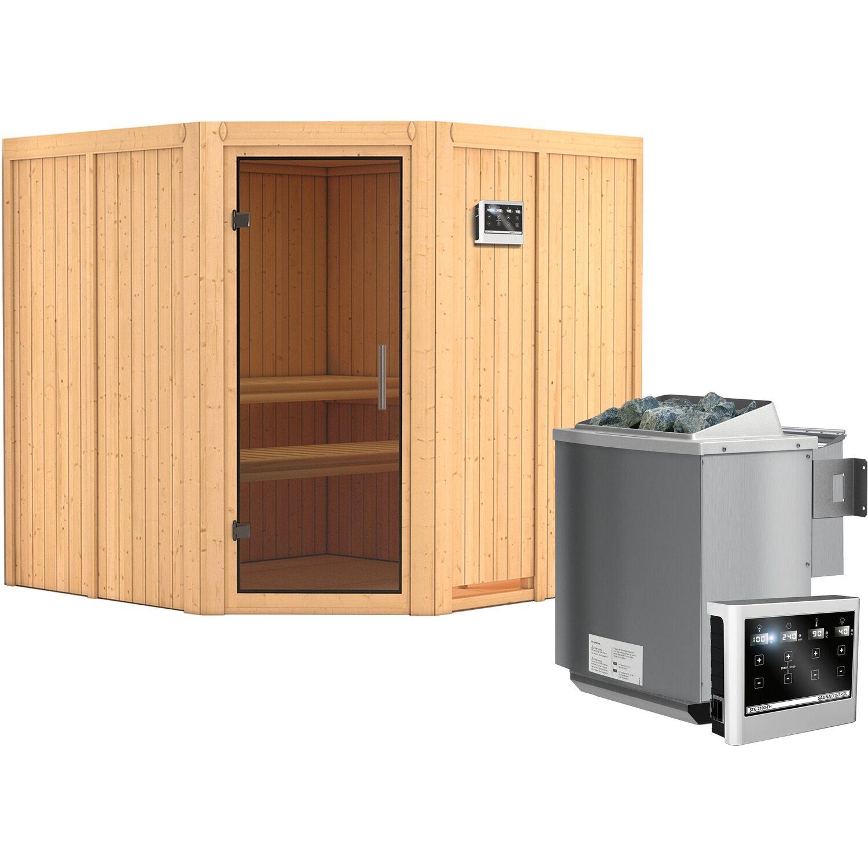 karibu sauna cassia bio ofen mit ext strg bluetooth lautspr zubeh r graphit kaufen bei obi. Black Bedroom Furniture Sets. Home Design Ideas