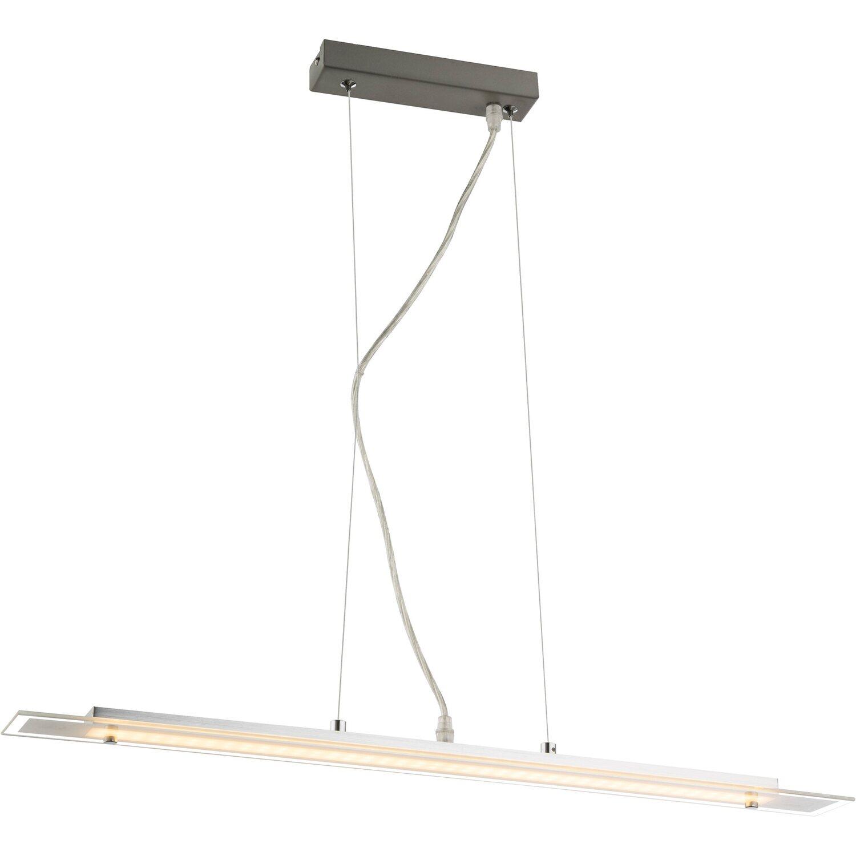 globo led pendelleuchte kisimen aluminium geb rstet eek a kaufen bei obi. Black Bedroom Furniture Sets. Home Design Ideas