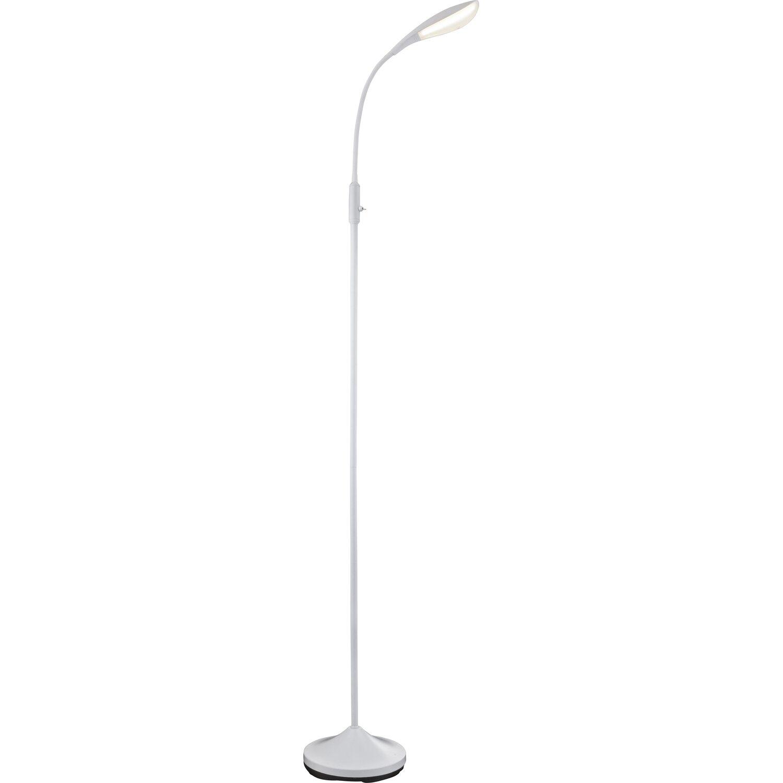 Globo LED-Stehleuchte SHANNON Metall Weiß EEK: A kaufen bei OBI