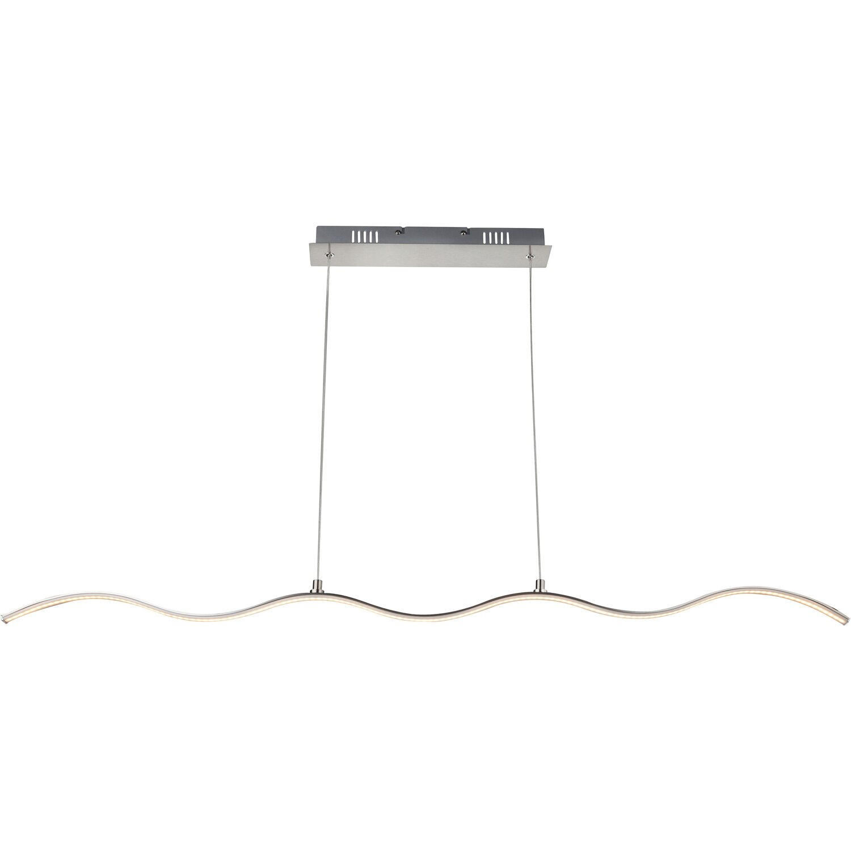 globo led pendelleuchte sarka nickel matt eek a kaufen bei obi. Black Bedroom Furniture Sets. Home Design Ideas