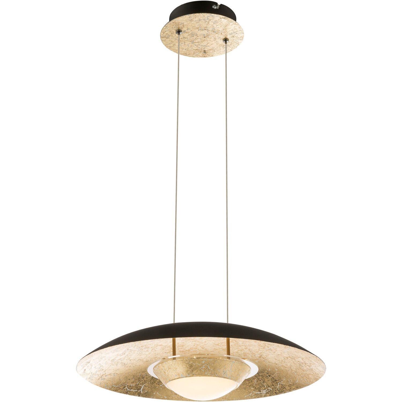 globo led pendelleuchte tna metall schwarz eek a kaufen bei obi. Black Bedroom Furniture Sets. Home Design Ideas