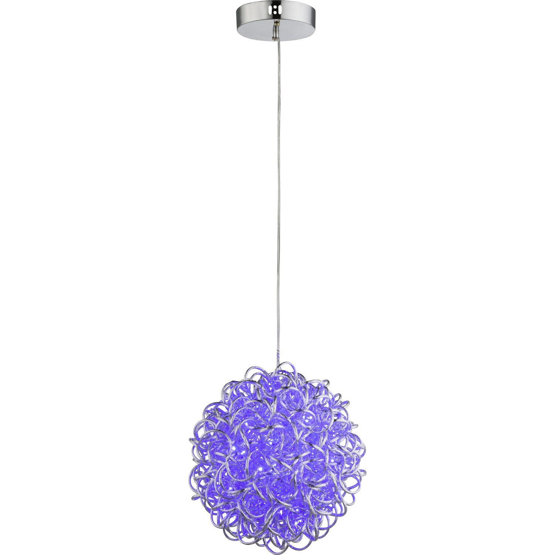 globo led pendelleuchte anton aluminium silber metallic eek a kaufen bei obi. Black Bedroom Furniture Sets. Home Design Ideas