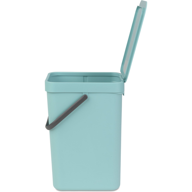 brabantia Abfalleimer 12L Sort /& Go Einbau Mülleimer Wandmontage Müllsammler