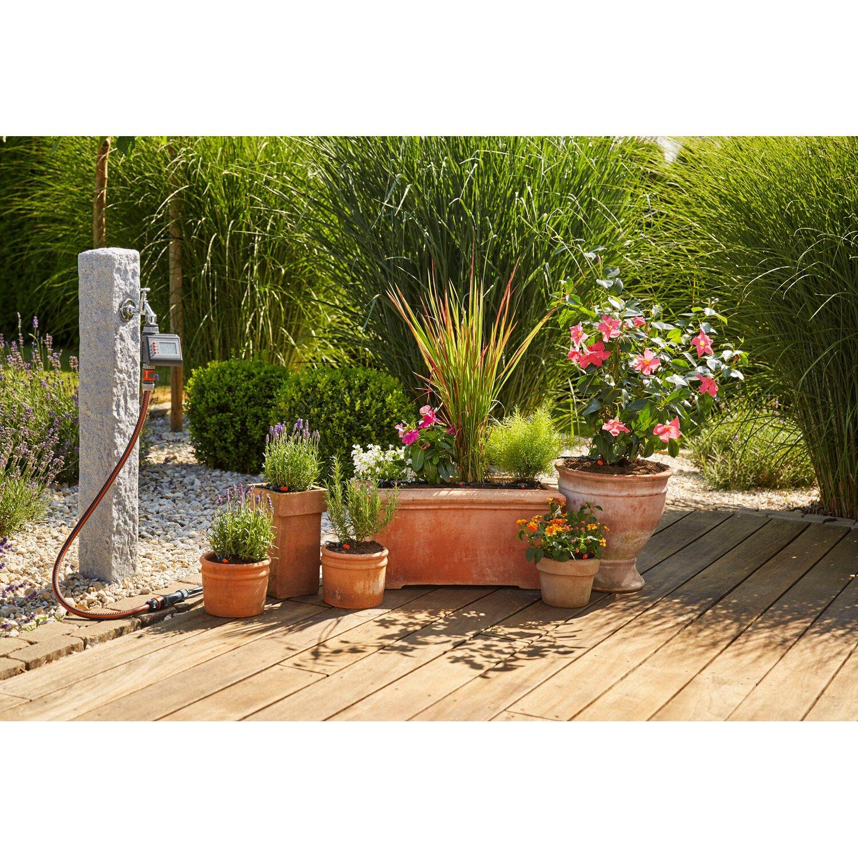 Gardena MDS Start-Set Pflanztöpfe M mit Automatik Garten Werkzeug Zubehor NEU