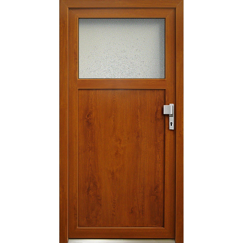kunststoff nebeneingangst r k501 88 cm x 198 cm anschlag rechts golden oak kaufen bei obi. Black Bedroom Furniture Sets. Home Design Ideas