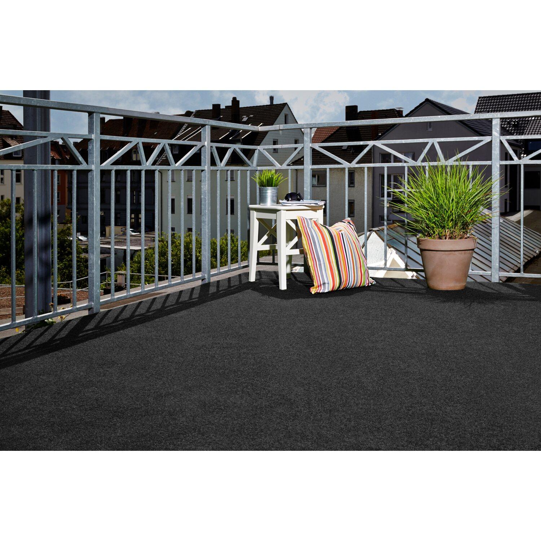 Kunstrasen matte komfort mit noppen anthrazit 400 cm x 200 cm kaufen bei obi - Rasenteppich meterware ...