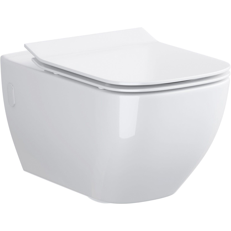 sanicomfort wand wc harmony tiefsp ler abgang waagerecht sp lrandlos wei kaufen bei obi. Black Bedroom Furniture Sets. Home Design Ideas