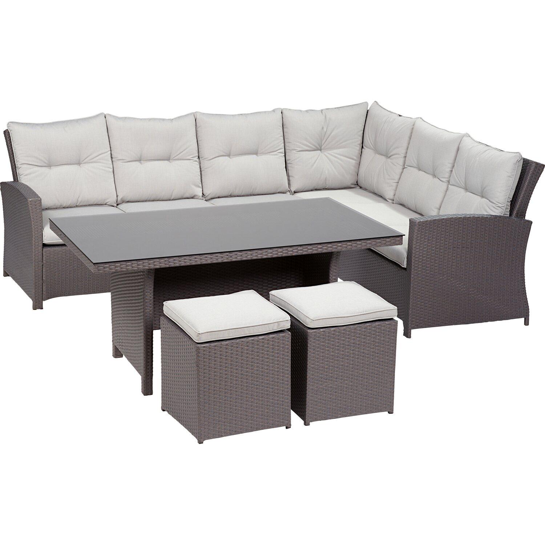 obi esstisch lounge gruppe vermont ecke rechts deep water concrete 5 tlg kaufen bei obi. Black Bedroom Furniture Sets. Home Design Ideas