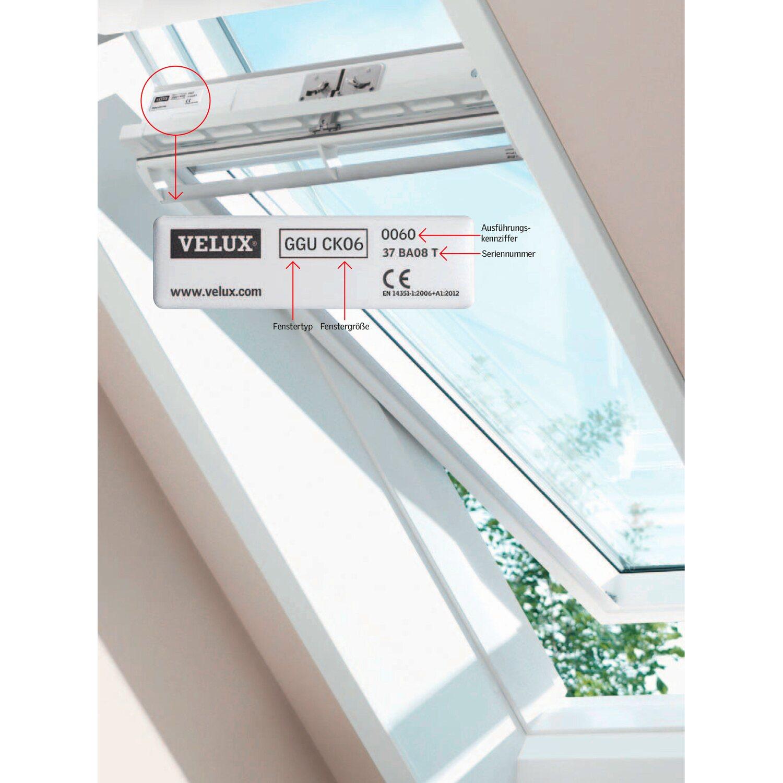 velux schwingfenster kunststoff 78 cm x 118 cm ggu mk06. Black Bedroom Furniture Sets. Home Design Ideas