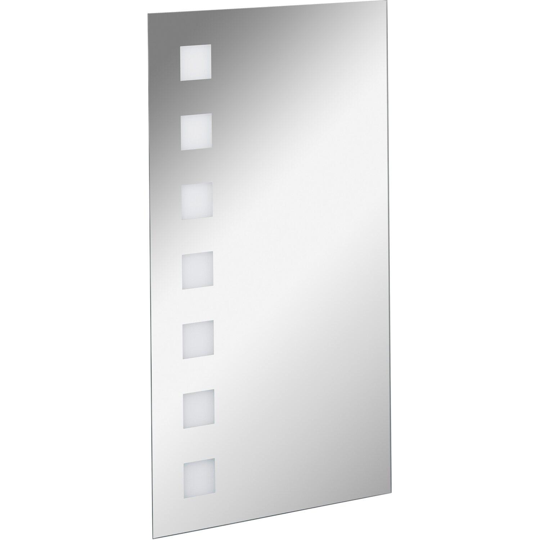 fackelmann spiegelelement 40 cm karo mit led beleuchtung eek a kaufen bei obi. Black Bedroom Furniture Sets. Home Design Ideas