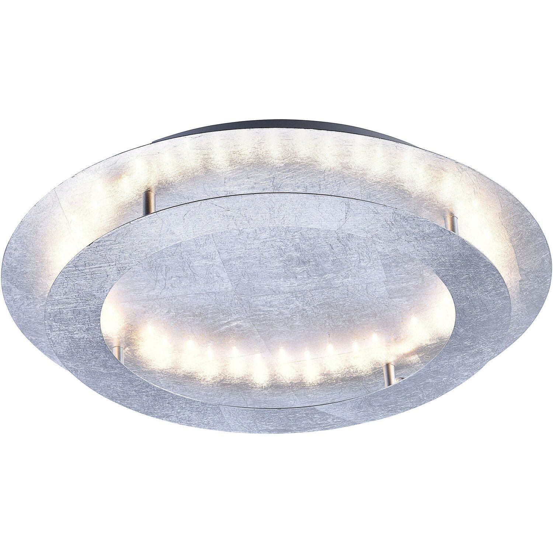 Paul Neuhaus LED Deckenleuchte Nevis Silber Ø 50 cm EEK: B