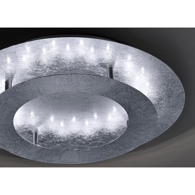 Paul Neuhaus LED Deckenleuchte Nevis Silber Ø 40 cm EEK: B
