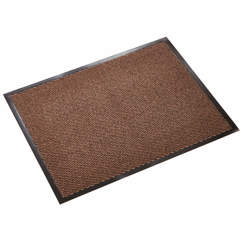 OBI Sauberlaufmatte meliert Braun 40 cm x 60 cm