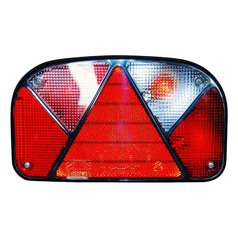 Metallhalterung für Beleuchtungssatz, Anhänger, Rückleuchten, verzinkt, Caravan, Metallrahmen, Anhängerbeleuchtung, Wohnwagen, Halter für Beleuchtung,