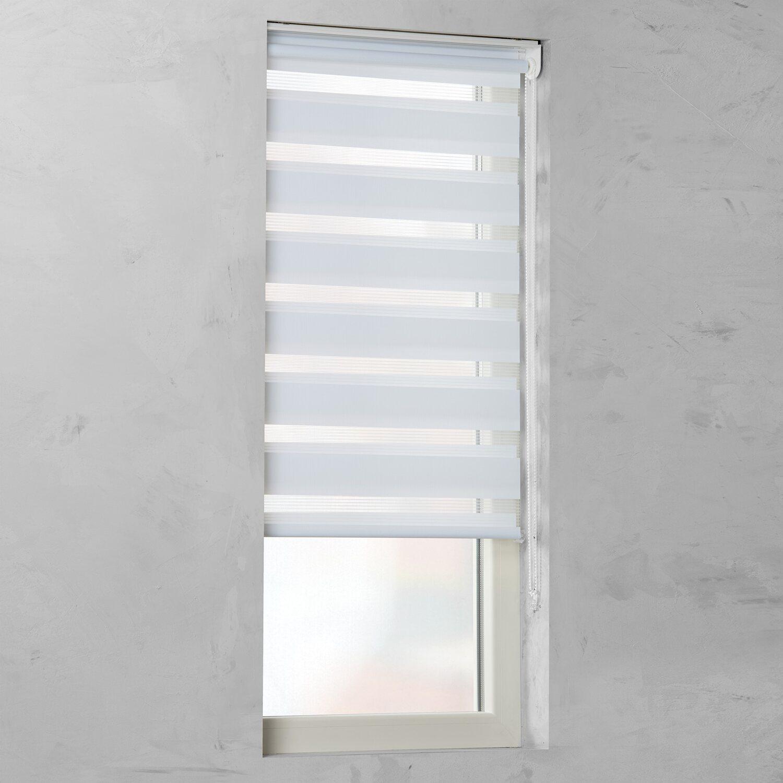 Cocoon Doppelrollo Tageslicht Weiss 80 Cm X 210 Cm Kaufen Bei Obi