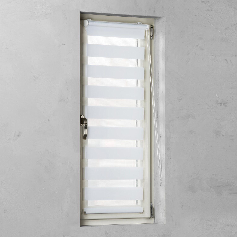 Cocoon Easy Fix Doppelrollo Tageslicht Weiß 75 cm x 150 cm Preisvergleich