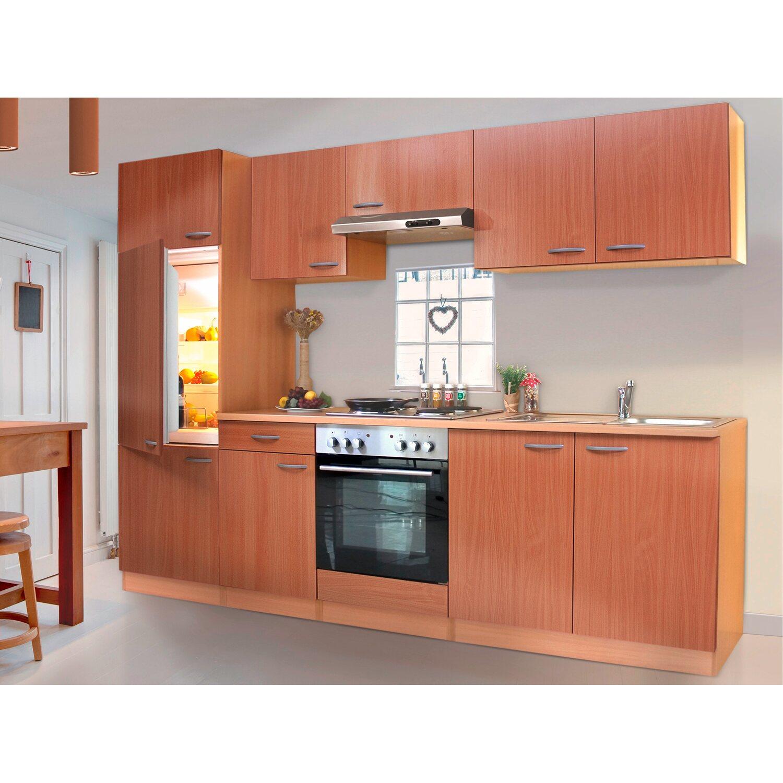 respekta k chenzeile ohne e ger te lbkb270bbma 270 cm buche nachbildung kaufen bei obi. Black Bedroom Furniture Sets. Home Design Ideas