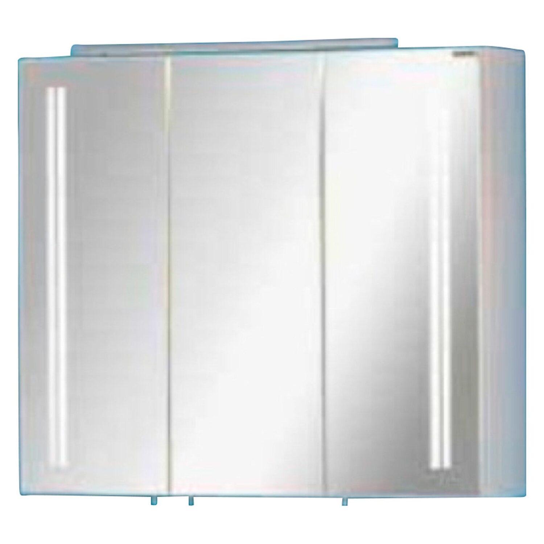 Fackelmann spiegelschrank lugano 80 cm wei eek a kaufen for Spiegelschrank obi