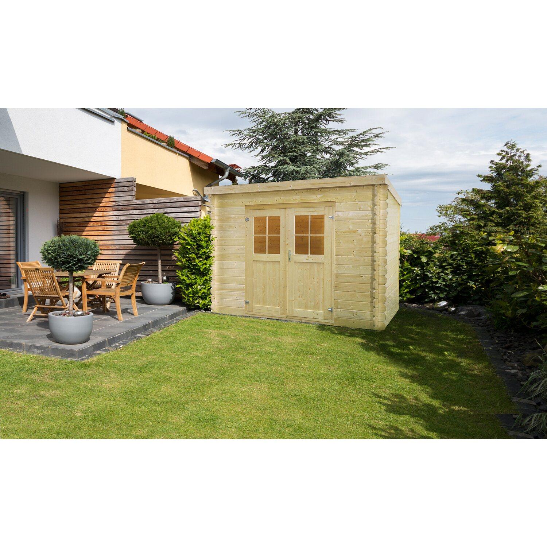 holz gartenhaus werra 1 226 cm x 226 cm kaufen bei obi. Black Bedroom Furniture Sets. Home Design Ideas