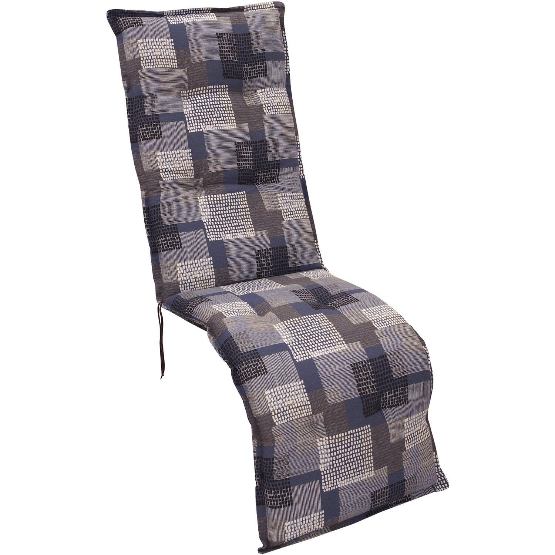 relax auflage norderney grafik blau grau kaufen bei obi. Black Bedroom Furniture Sets. Home Design Ideas