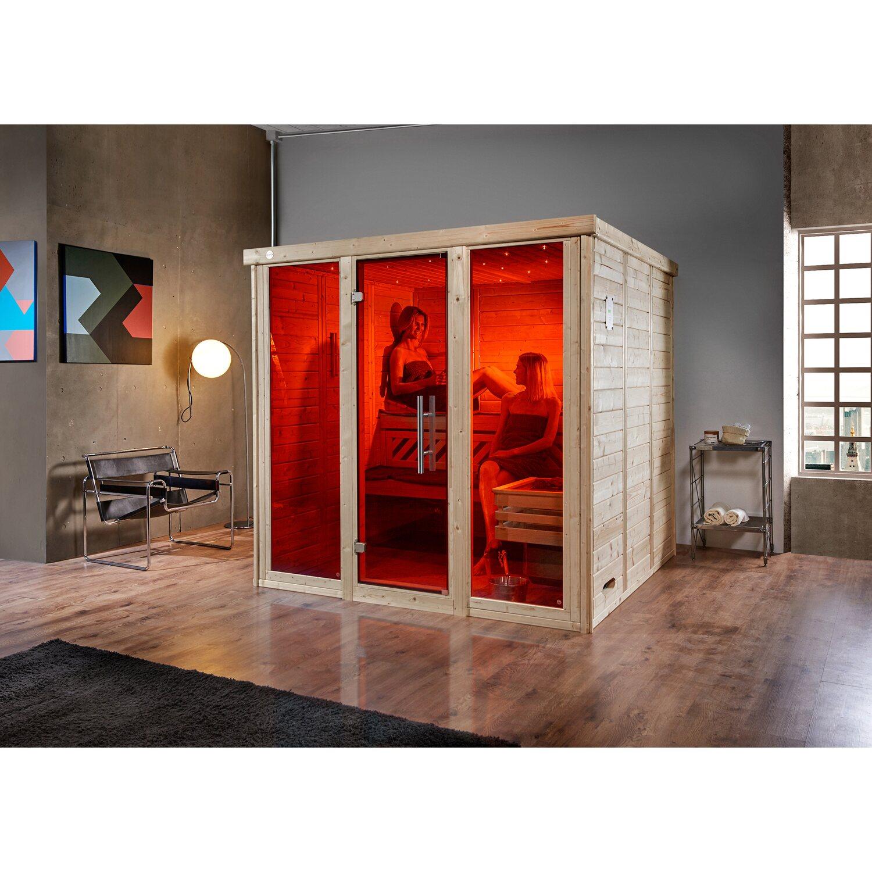 weka massivholzsauna elementsauna kemi gr 3 glast r und 2 fenster kaufen bei obi. Black Bedroom Furniture Sets. Home Design Ideas