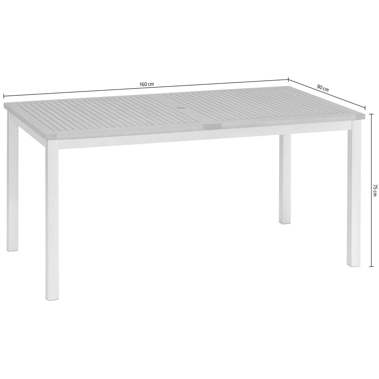 OBI Tisch Barrie 160 x 90 cm kaufen bei OBI