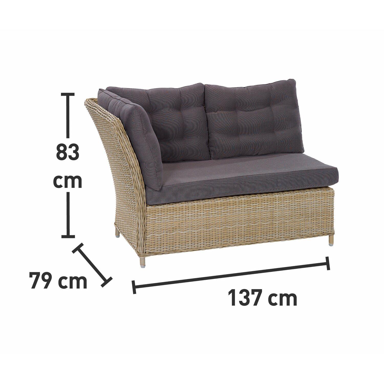 obi esstisch lounge gruppe madison 4 teilig kaufen bei obi. Black Bedroom Furniture Sets. Home Design Ideas
