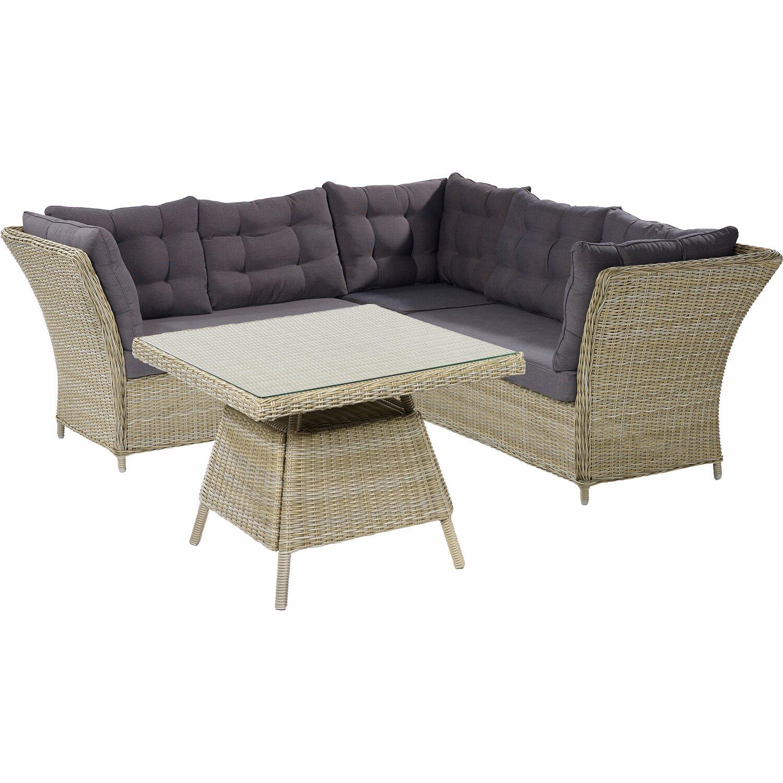 esstisch lounge set cheap gartenmbel rattan polyrattan. Black Bedroom Furniture Sets. Home Design Ideas