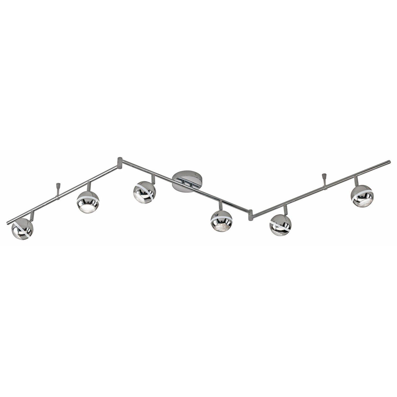 Trio LED-Spot 6er EEK: A Chrom