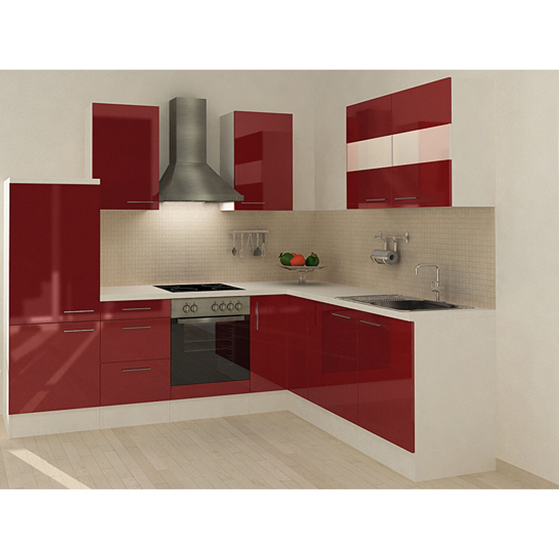 respekta premium winkelk che rp260wchcos 260 x 200 cm chilirot wei kaufen bei obi. Black Bedroom Furniture Sets. Home Design Ideas