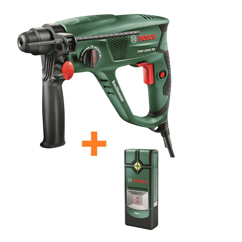 bosch bohrhammer pbh 2600 re mit sds-plus 570 w inkl. ortungsgerät