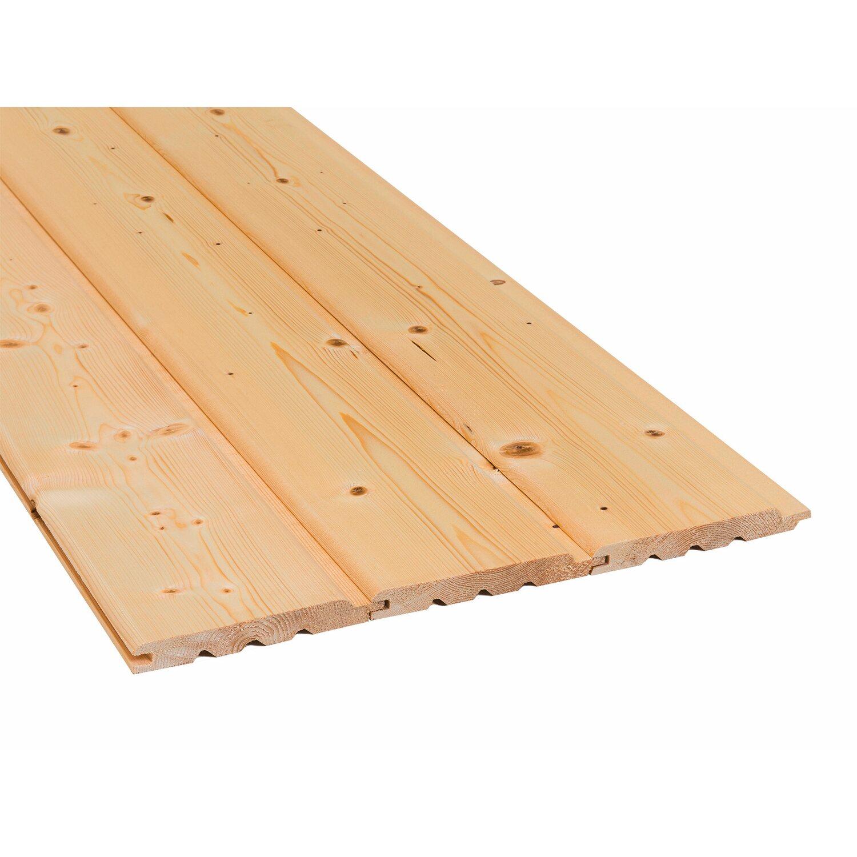 Sonstige Profilholz Bergen Fichte/Tanne Nut und Feder 19 mm x 146 mm x 2100 mm