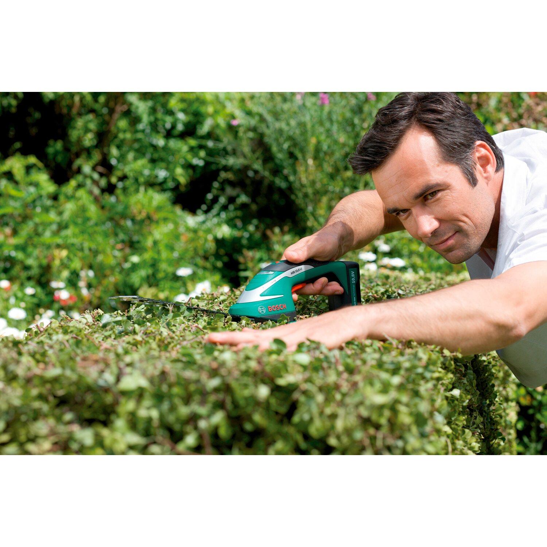 Bosch 3in1 Akku Gras und Strauchscheren Set ASB 10,8 LI