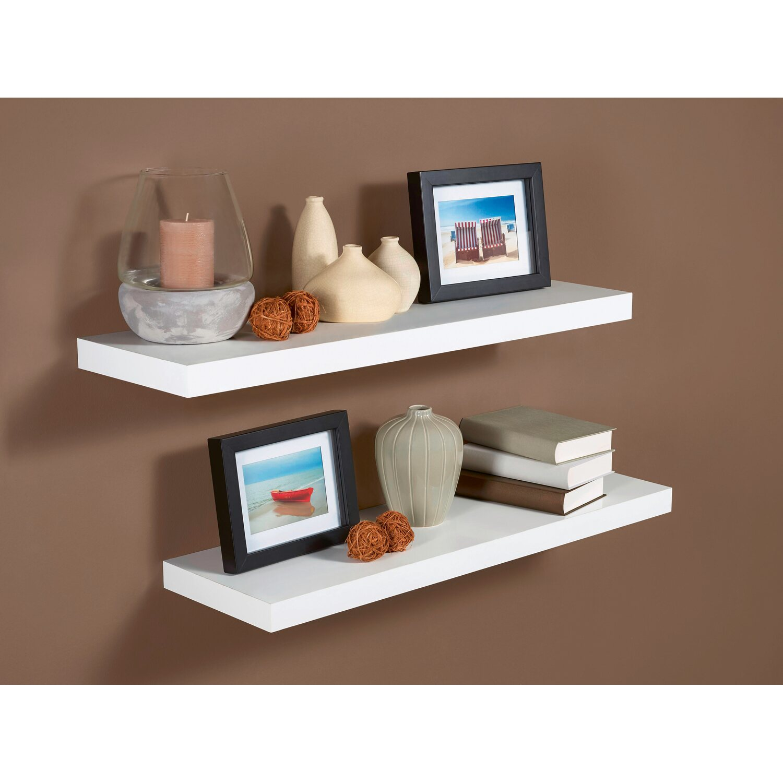 obi regalboden wei hochglanz 3 8 cm x 80 cm x 23 5 cm kaufen bei obi. Black Bedroom Furniture Sets. Home Design Ideas