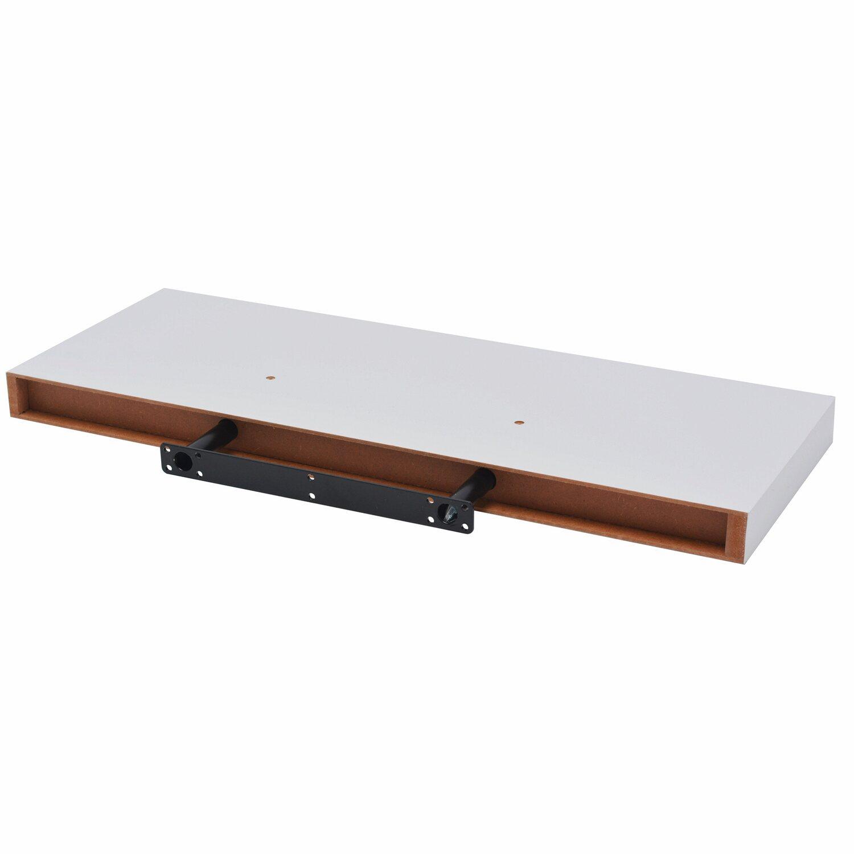 OBI Regalboden Weiß Hochglanz 3,8 cm x 23,5 cm x 23,5 cm