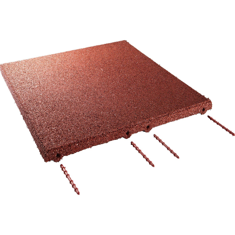 Terrassenplatten Gehwegplatten Online Kaufen Bei OBI - Betonplatten rot 50x50