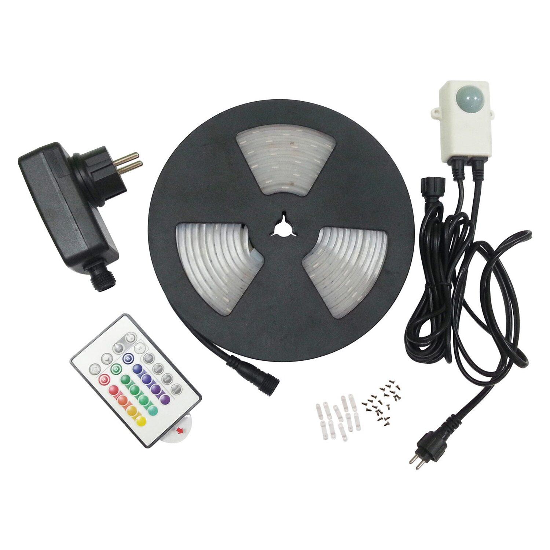 OBI Lighting OBI LED-Strip Flexband mit Farbwechsler 5 m für außen