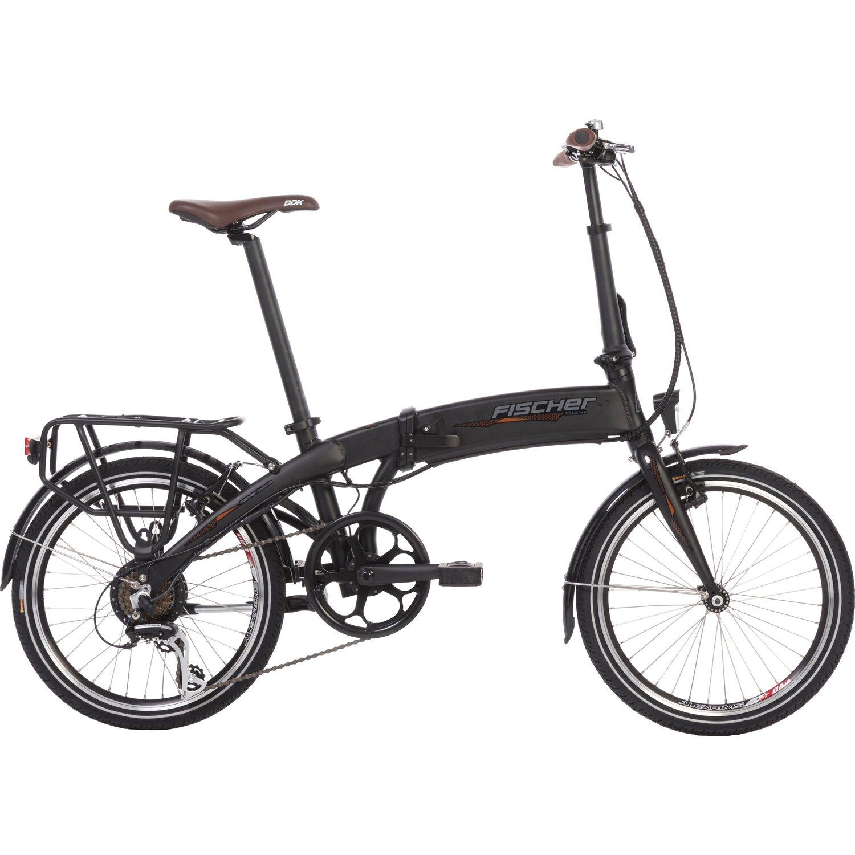 FISCHER Fahrrad Faltrad 20 (2019), Pedelec schwarz
