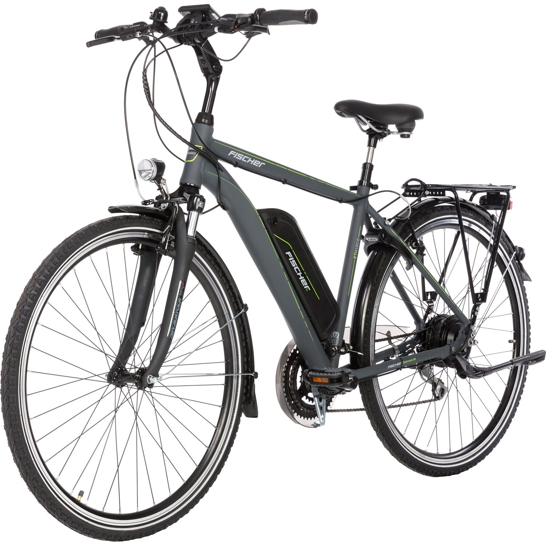 Fischer E-Bike Trekking Herren ETH 1806-S1 Anthrazit matt ...